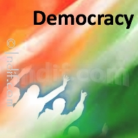 democracy in my opinon essay Democracy, in my view, is only compatible with a free economy it can only exist, in substance, in an economy of ideas like a fish to water, democracy can only exists in a total atmosphere of freedom of action it is completely incompatible with a system that provides for a governing authority with coercive power.