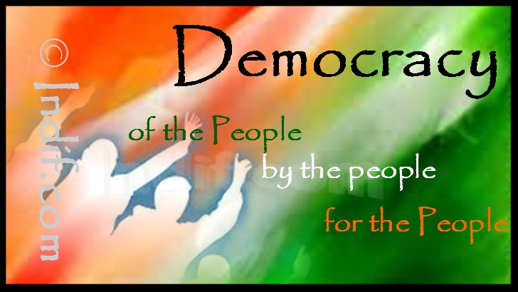 democracy essay india 13052011  parliamentary democracy in india has become a farce for the proper working of parliamentary democracy many pre-requisites are needed  till the leaders.