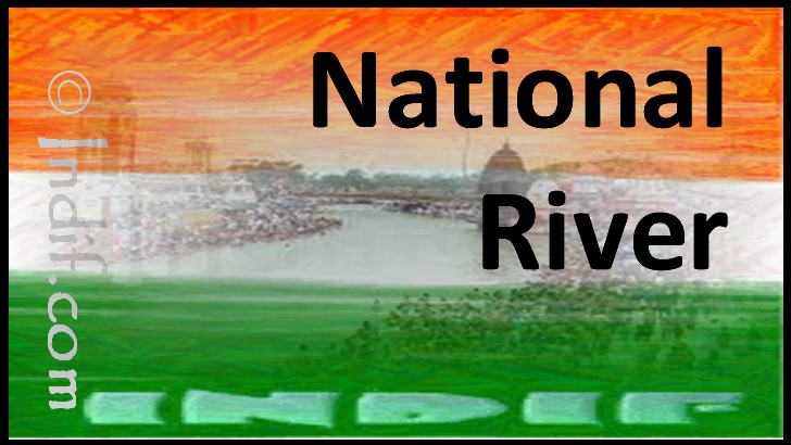 The National River Of India Indian National River River Ganga Or