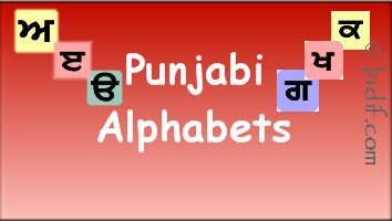 Punjabi Alphabets for kids