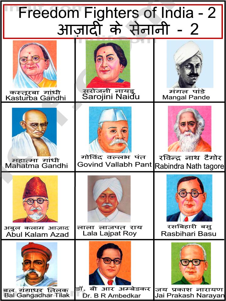 indian freedom fighters The independence of india was a result of concerted efforts by thousands of individuals and organizations these freedom activists came from different backgrounds and philosophies, but they.