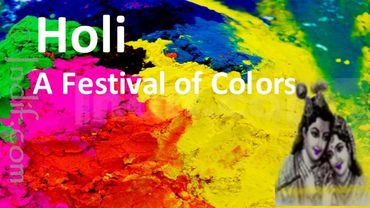 Calendar Holi : Holi the festival of colors