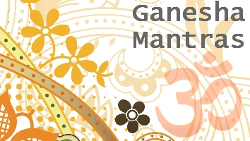 Ganesha Mantras and Shlokas