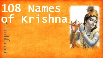 Shree Krishna 108 Names