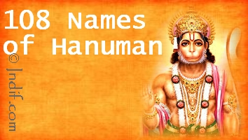Shree Hanuman 108 Names