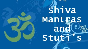 Shiv Mantras and stuti