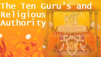 The ten gurus and religious authority