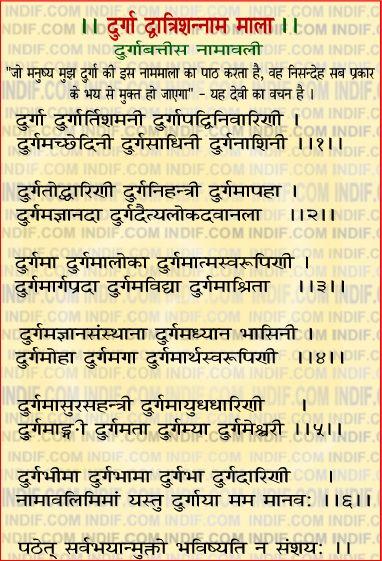 Durga 32 Names