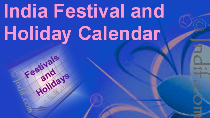 Indian Calender 209 Indian Festivals And Indian Holidays 2019